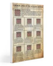 Sicilian vaiation dvhd-pml Gallery Wrapped Canvas Prints tile