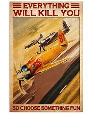 Air racing choose something fun pt dvhh-NTH 11x17 Poster front