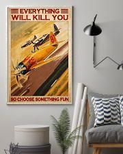 Air racing choose something fun pt dvhh-NTH 11x17 Poster lifestyle-poster-1