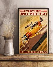 Air racing choose something fun pt dvhh-NTH 11x17 Poster lifestyle-poster-3