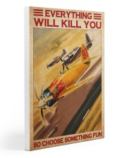 Air racing choose something fun pt dvhh-NTH Gallery Wrapped Canvas Prints tile