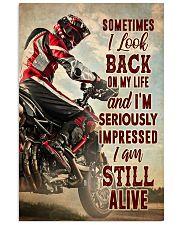 lookback alive dvhd cva  11x17 Poster front