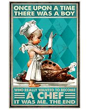 Chef Once Upon Boy 24x36 Poster front