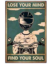 Lose mind bike 11x17 Poster front