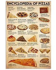 Pizza ency  24x36 Poster front