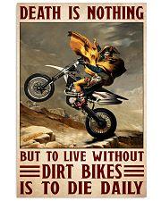 Napoleon dirt bike 11x17 Poster front