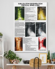 Chiropractor subluxation cervical lqt nna 24x36 Gallery Wrapped Canvas Prints aos-canvas-pgw-24x36-lifestyle-front-18