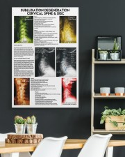 Chiropractor subluxation cervical lqt nna 24x36 Gallery Wrapped Canvas Prints aos-canvas-pgw-24x36-lifestyle-front-19