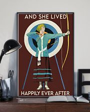 Archery happily 11x17 Poster lifestyle-poster-2