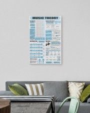 music theory pt lqt ngt 16x24 Gallery Wrap