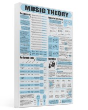 music theory pt lqt ngt 16x24 Gallery Wrapped Canvas Prints front