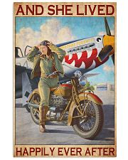 Bike plane happily 11x17 Poster front