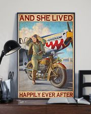 Bike plane happily 11x17 Poster lifestyle-poster-2