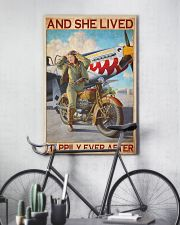 Bike plane happily 11x17 Poster lifestyle-poster-7