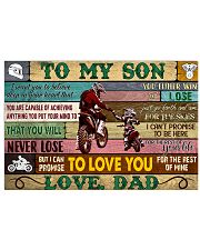 motorcycle-to-my-son-love-dad-pt-lqt-nna 17x11 Poster front