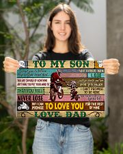 motorcycle-to-my-son-love-dad-pt-lqt-nna 17x11 Poster poster-landscape-17x11-lifestyle-19