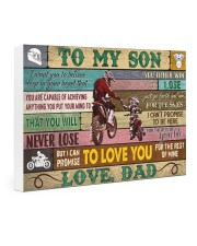 motorcycle-to-my-son-love-dad-pt-lqt-nna Gallery Wrapped Canvas Prints tile