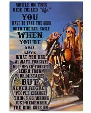 Ride go on chopper dvhd PML 11x17 Poster front