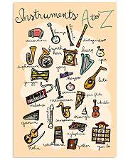 Music instr dvhd-pml 16x24 Poster front