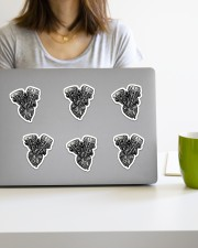 Sticker engine heart Sticker - 6 pack (Vertical) aos-sticker-6-pack-vertical-lifestyle-front-21a