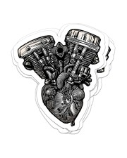 Sticker engine heart Sticker - 6 pack (Vertical) front