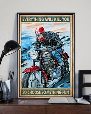 Choose fun caferacer 11x17 Poster lifestyle-poster-2