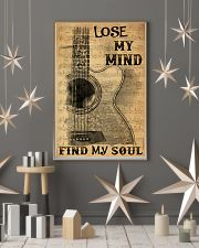 Acoustic guitar lose my mind find soul dvhh pml 11x17 Poster lifestyle-holiday-poster-1