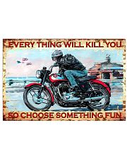 choose fun bs 17x11 Poster front