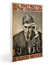 matter good moves chess dvhd ntv Gallery Wrapped Canvas Prints tile