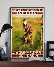 Old man golf club dvhd-cva 11x17 Poster lifestyle-poster-2
