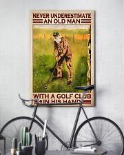 Old man golf club dvhd-cva 11x17 Poster lifestyle-poster-7