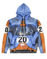 por-20-dvhd Men's All Over Print Hoodie front