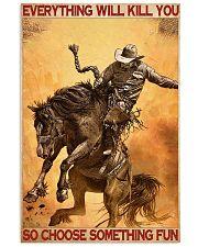 Rodeo choose fun dvhd-NTV 11x17 Poster front