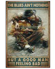 Blues guitar good dvhd 11x17 Poster front