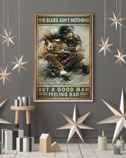Blues guitar good dvhd 11x17 Poster lifestyle-holiday-poster-1