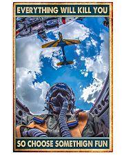 aircraft choose fun dvhd nna 11x17 Poster front