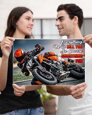 choose fun ktm 17x11 Poster poster-landscape-17x11-lifestyle-20