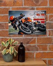 choose fun ktm 17x11 Poster poster-landscape-17x11-lifestyle-23