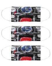 Motorcycle mas Cloth Face Mask - 3 Pack front