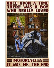 once upon motorcycle 11x17 Poster front