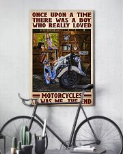 once upon motorcycle 11x17 Poster lifestyle-poster-7