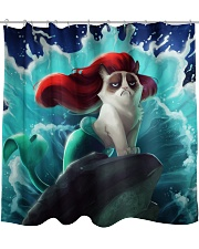 Cat Mermaid BC PDN-dqh Shower Curtain front