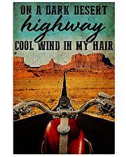 Bike dark desert 11x17 Poster front