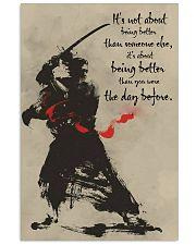 samurai better dvhd 11x17 Poster front