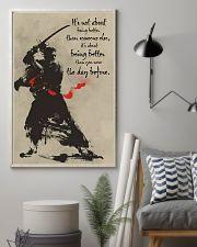 samurai better dvhd 11x17 Poster lifestyle-poster-1