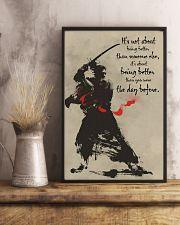 samurai better dvhd 11x17 Poster lifestyle-poster-3