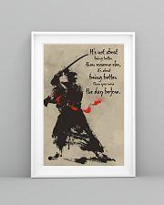 samurai better dvhd 11x17 Poster lifestyle-poster-5