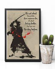 samurai better dvhd 11x17 Poster lifestyle-poster-8