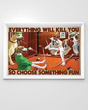 Pool choose fun 36x24 Poster poster-landscape-36x24-lifestyle-02