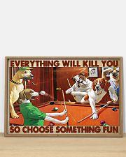 Pool choose fun 36x24 Poster poster-landscape-36x24-lifestyle-03